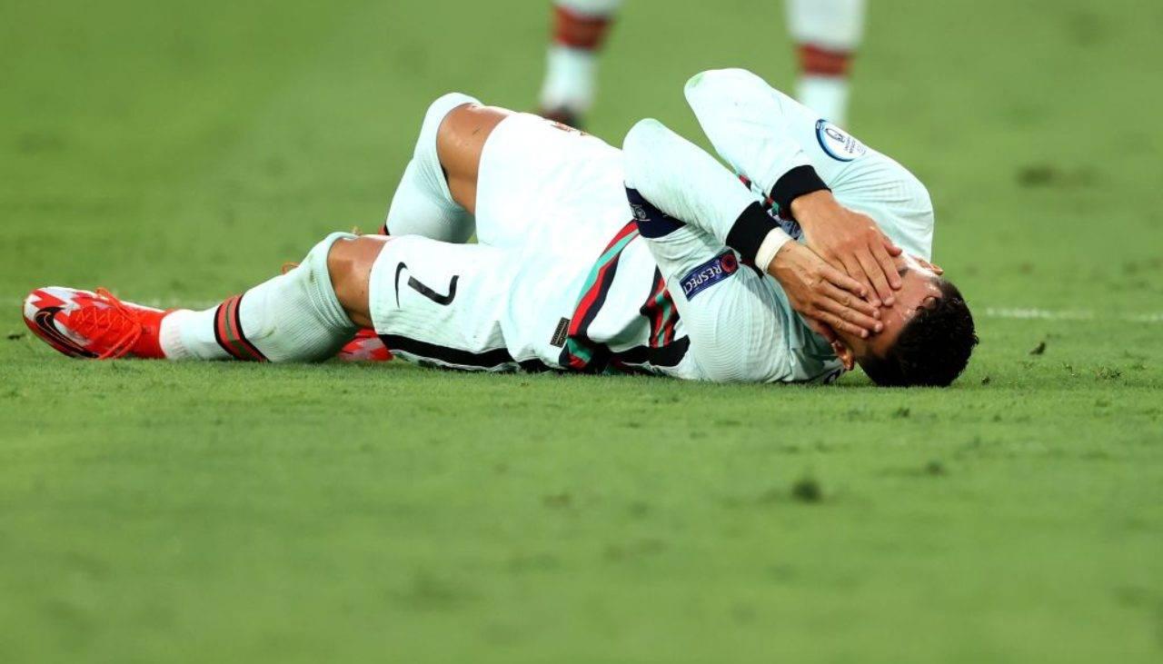 Ronaldo a terra