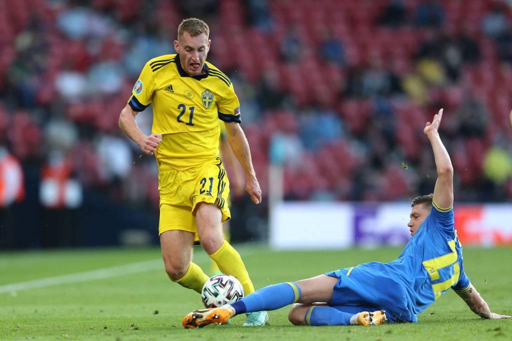 Kulusevski con la Svezia