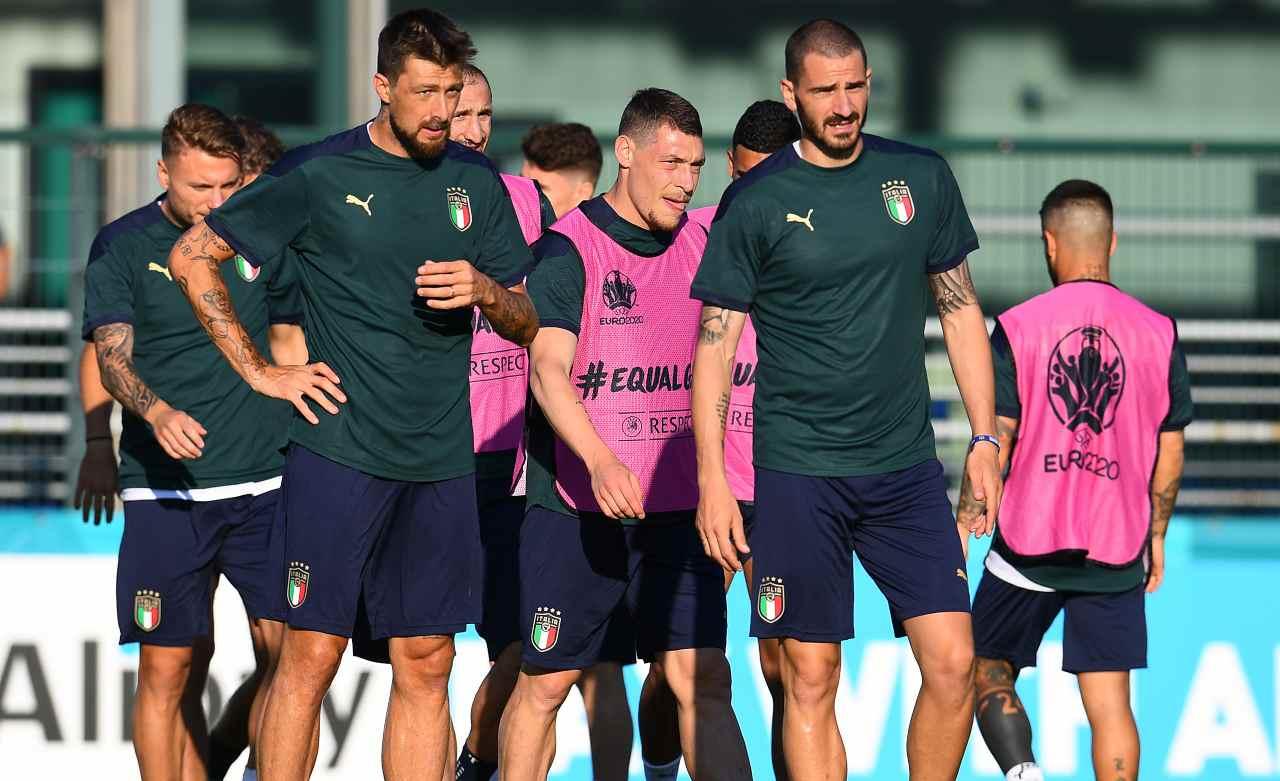 Il gruppo Italia