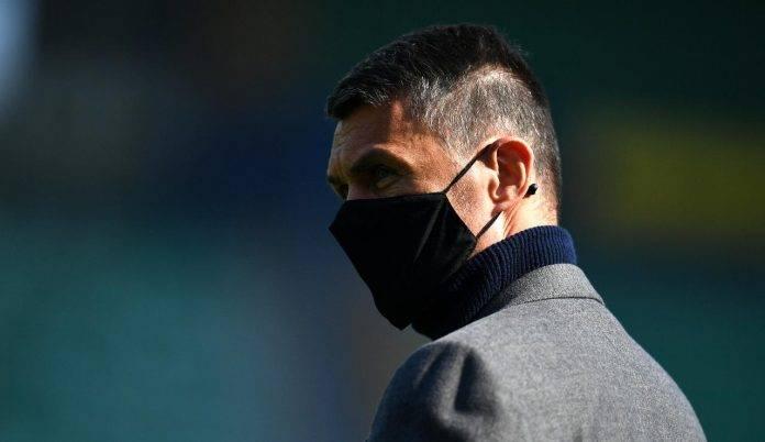 Maldini con la mascherina