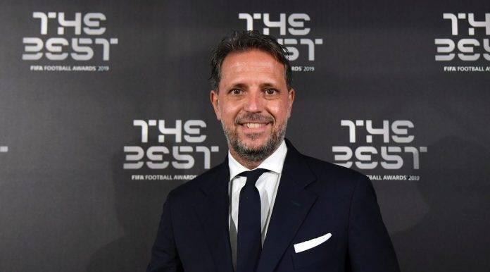 Fabio Paratici premiato