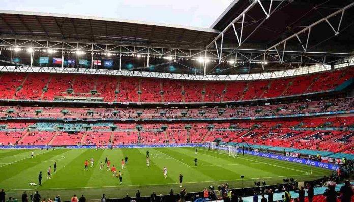 Lo stadio di Wembley