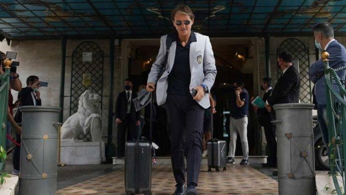 Roberto Mancini raggiante
