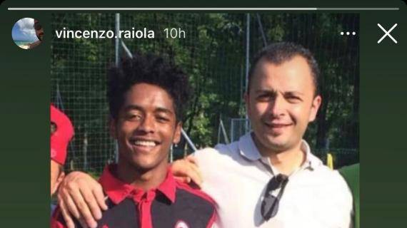 Seid Visin con Enzo Raiola