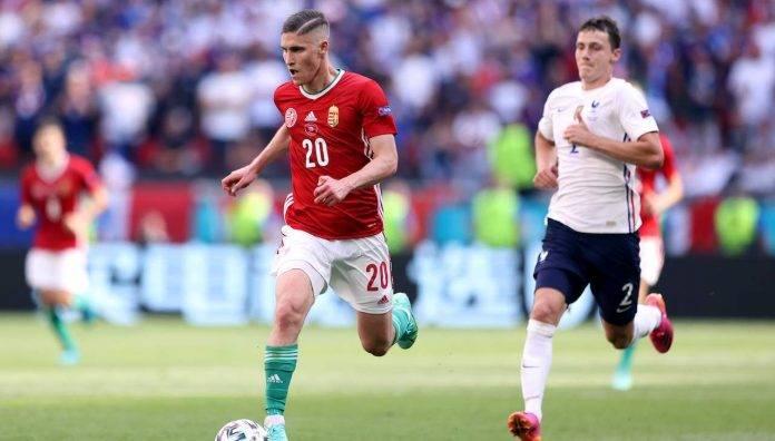 Sallai porta palla Ungheria Francia