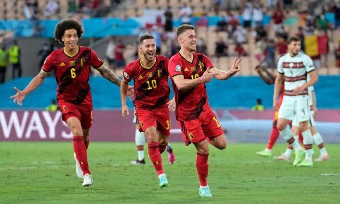Euro 2020, Thorgan Hazard esulta