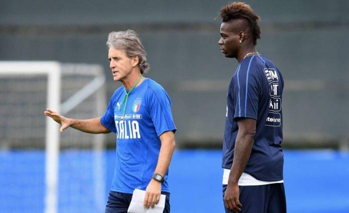 Mancini e Balotelli