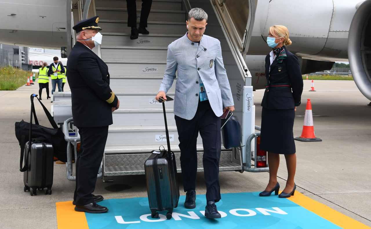 Bernardeschi con la valigia