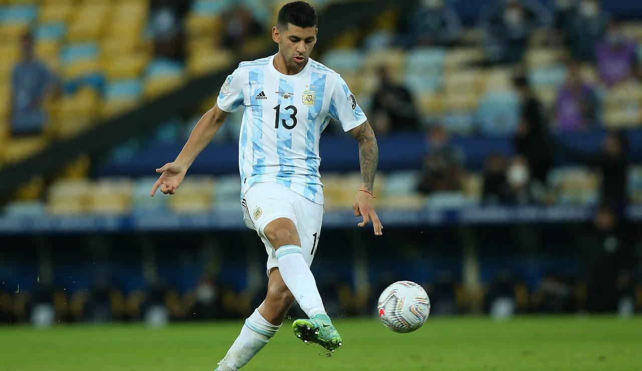 Romero durante la finale di Coppa America contro il Brasile