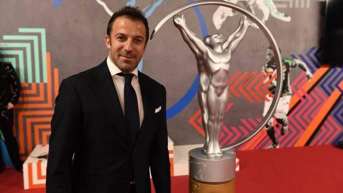 Alessandro Del Piero durante un evento di gala
