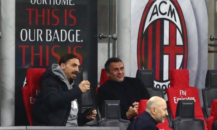 Ibrahimovic parla con Maldini e Gazidis