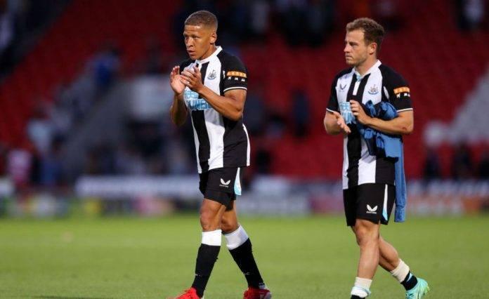 Gayle e Fraser del Newcastle United