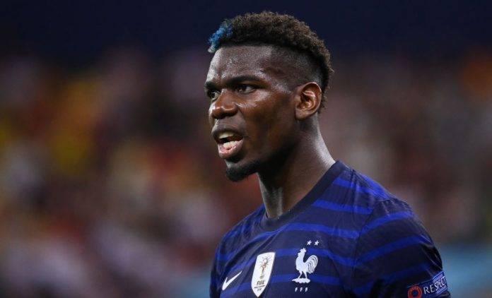 Pogba con la maglia della nazionale francese
