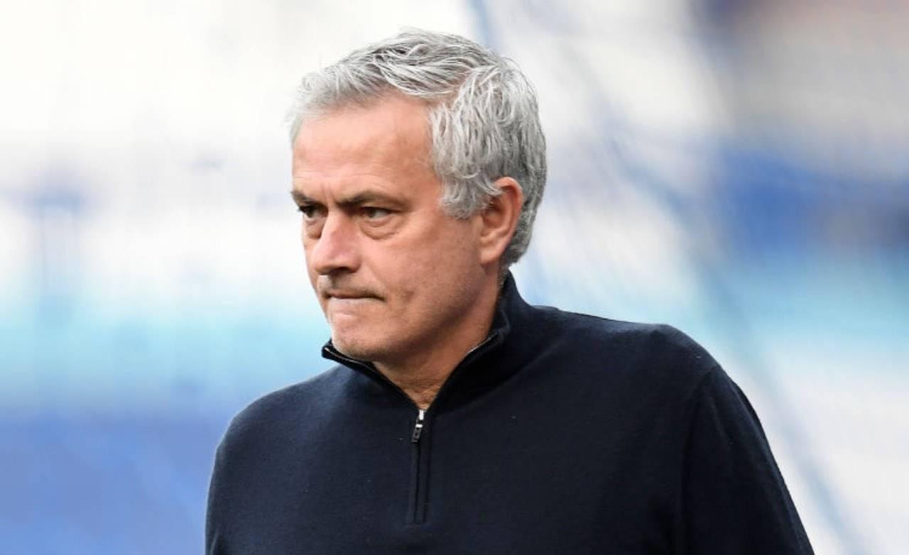 Mourinho sulla panchina del Tottenham