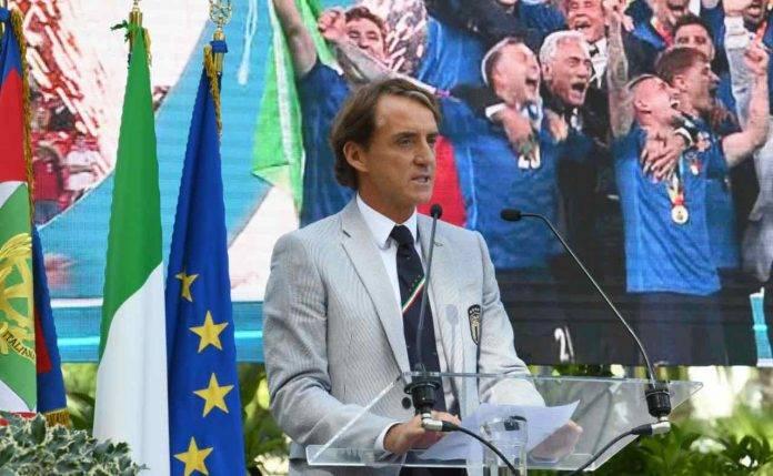 Mancini parla al Quirinale