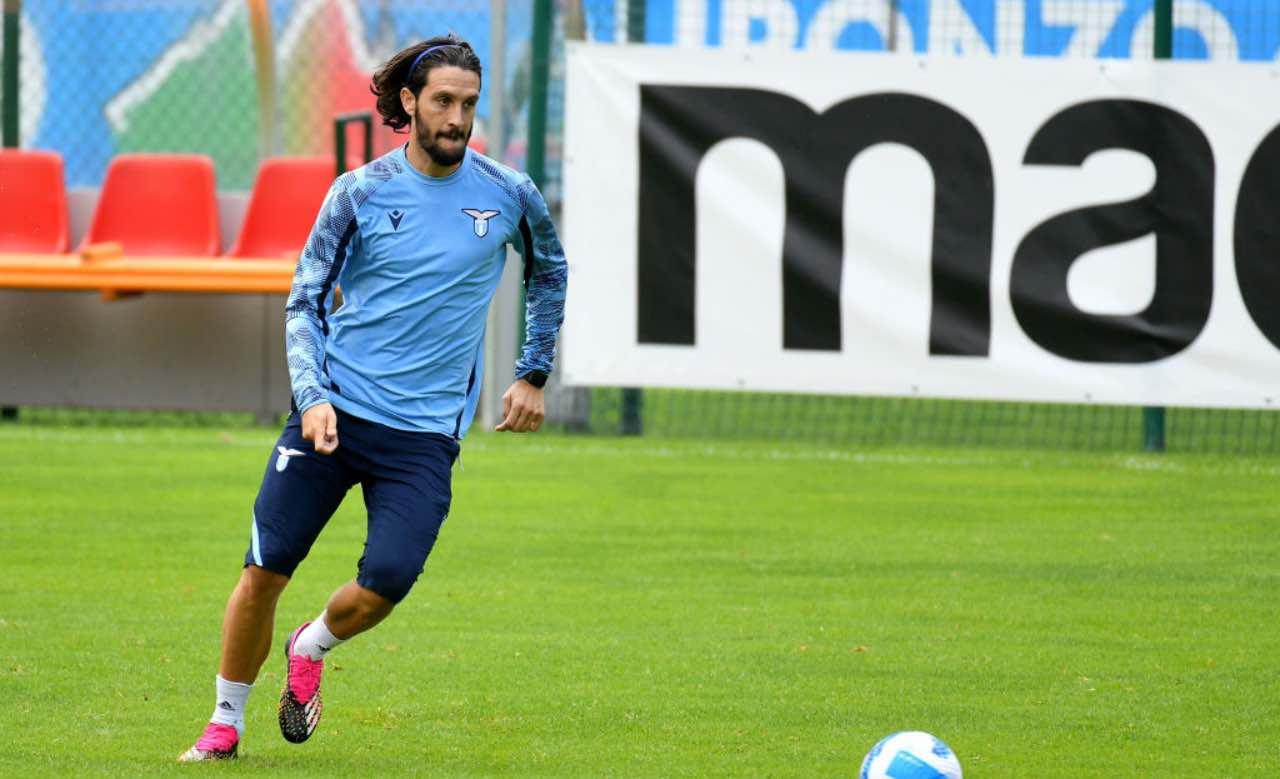 Luis Alberto in allenamento