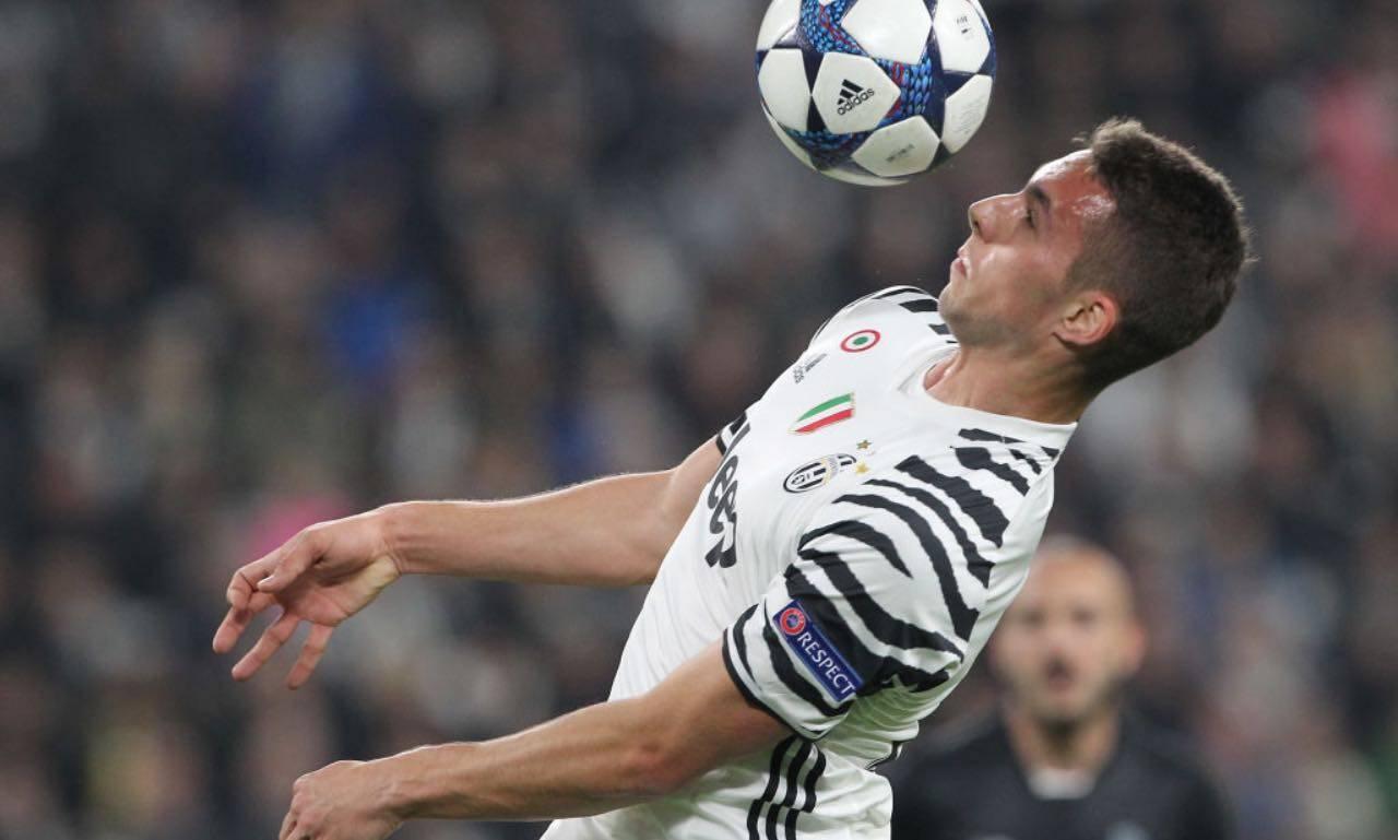 Pjaca con la maglia della Juventus