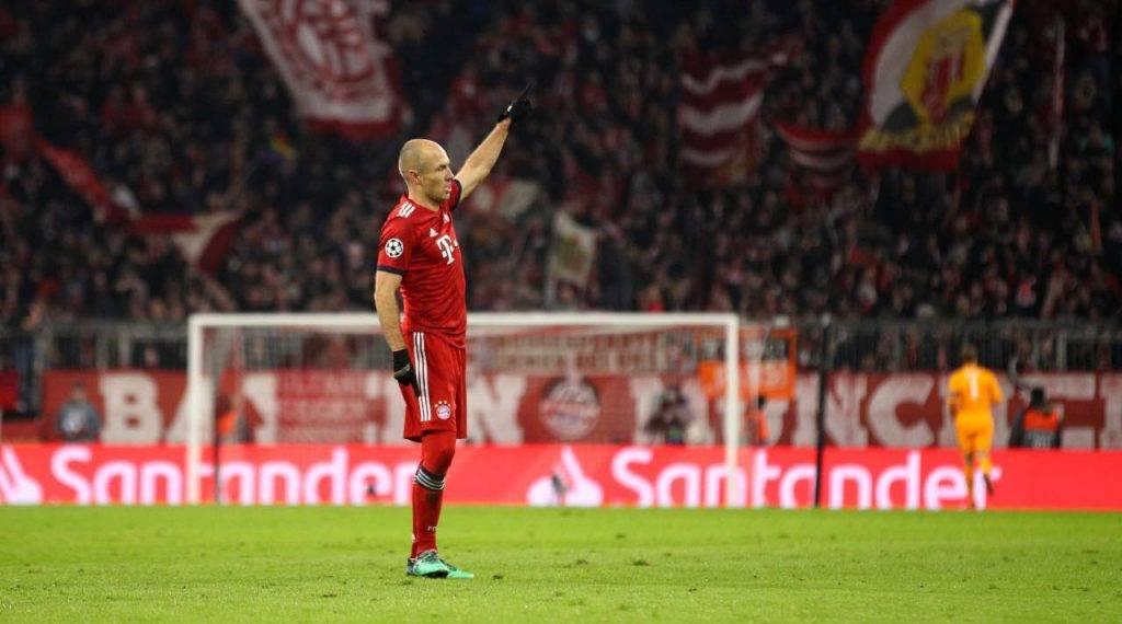 Robben al Bayern