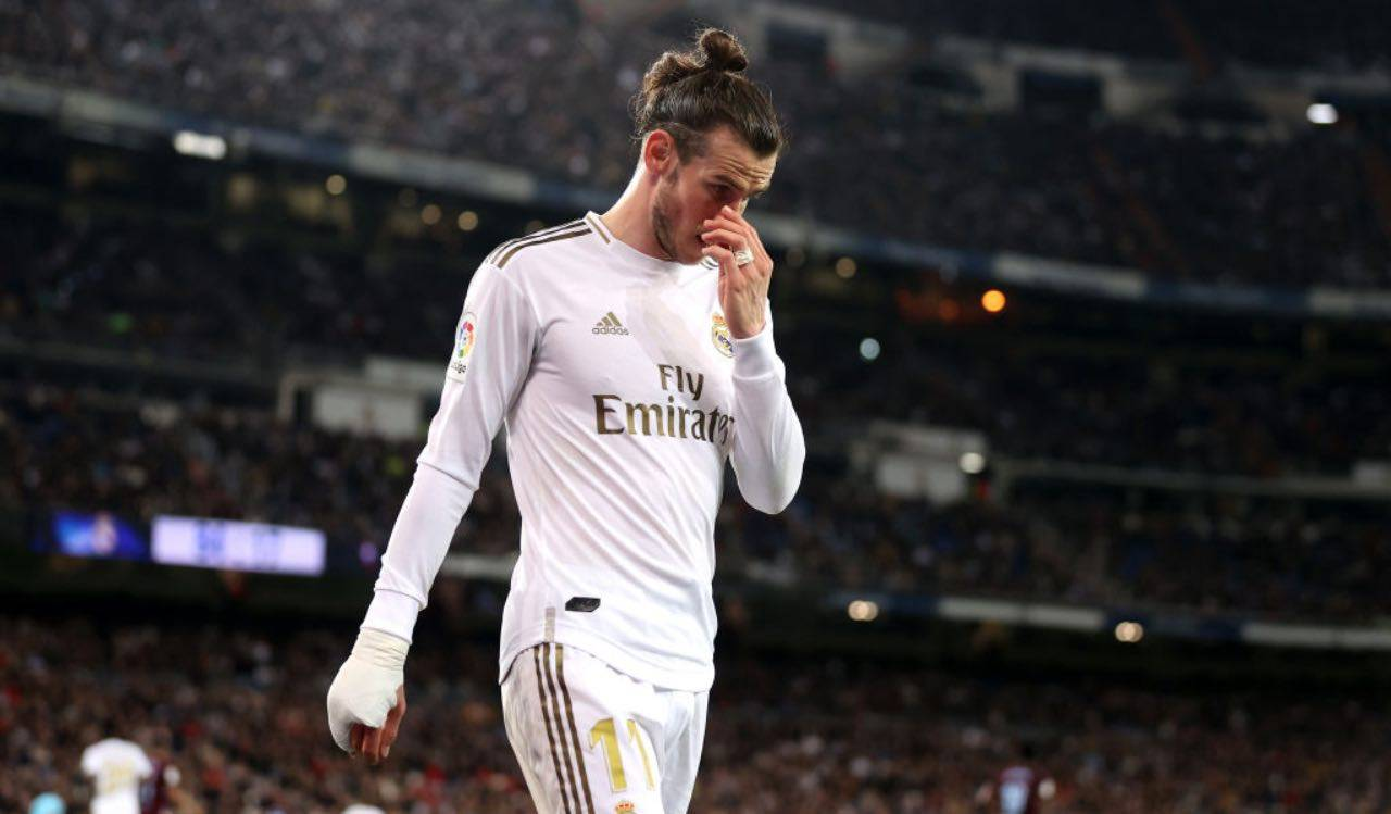 Bale in campo col Real Madrid