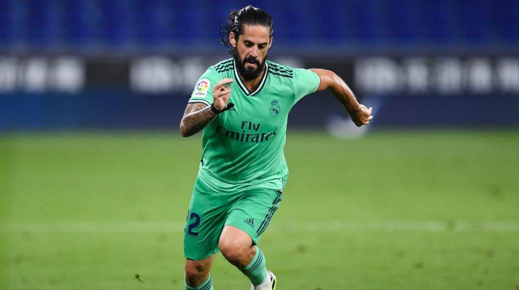 Isco in campo