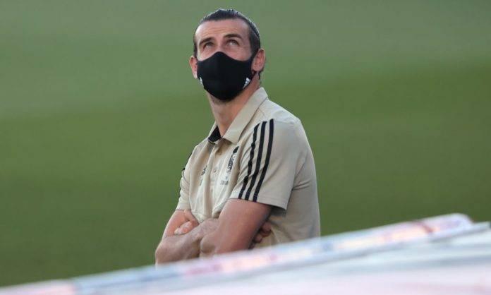 Bale sugli spalti al Real Madrid