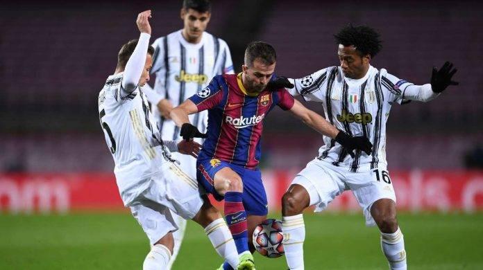 Juventus e Barcellona in campo
