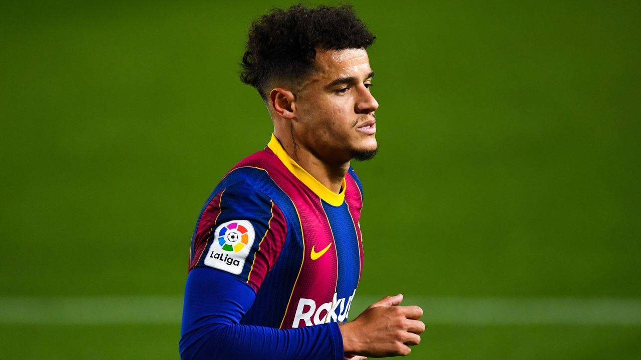 Philippe Coutinho in campo