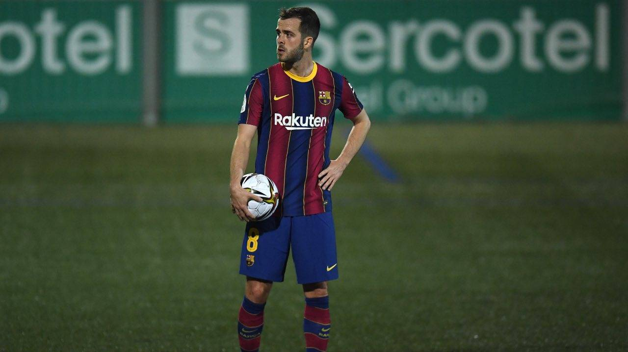 Pjanic in campo