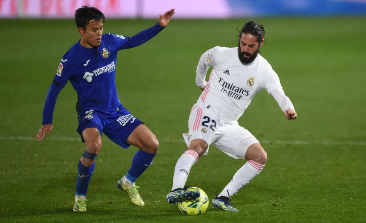 Isco in Real Madrid-Getafe