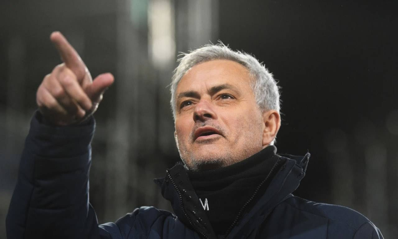 Mourinho in campo