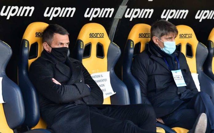 Maldini sulla panchina del Milan