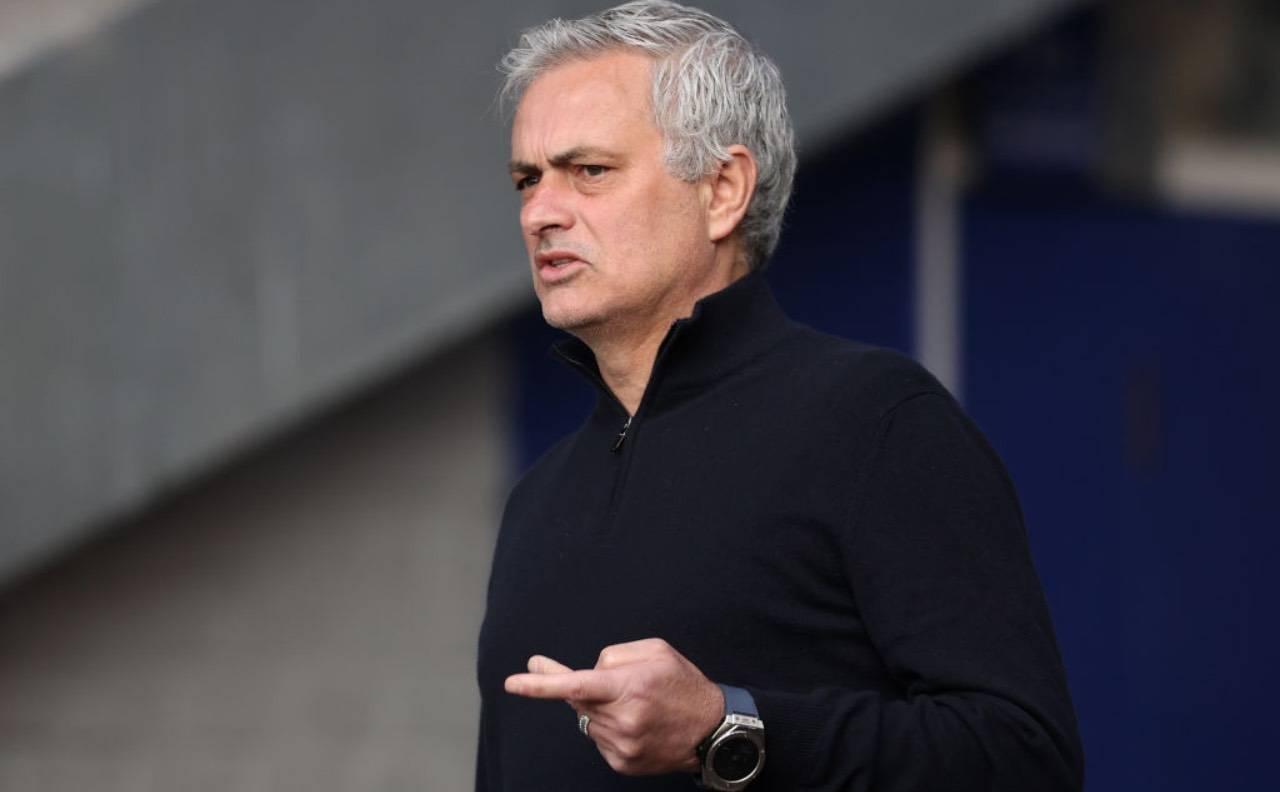 Mourinho in panchina
