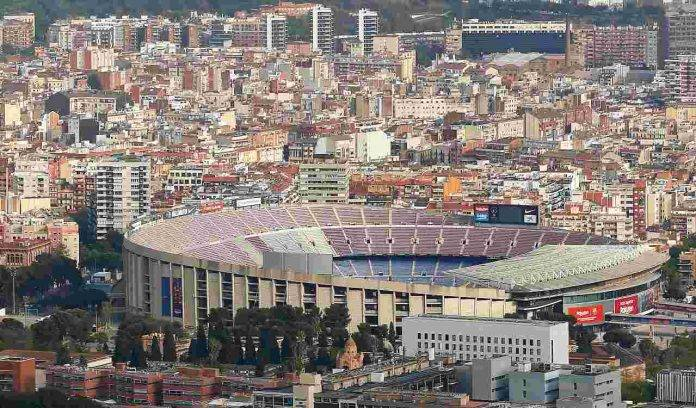 Camp Nou vista