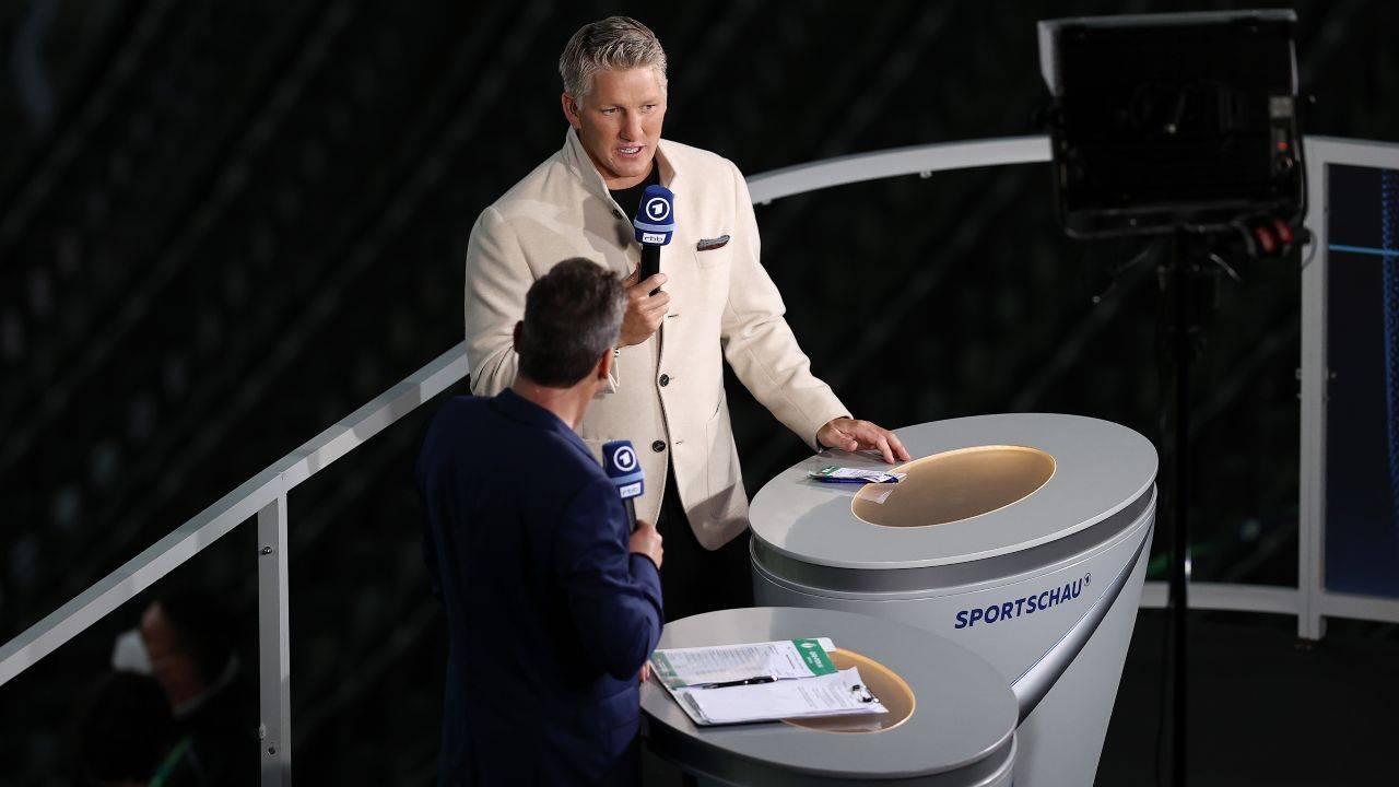 Bastian Schweinsteiger in televisione