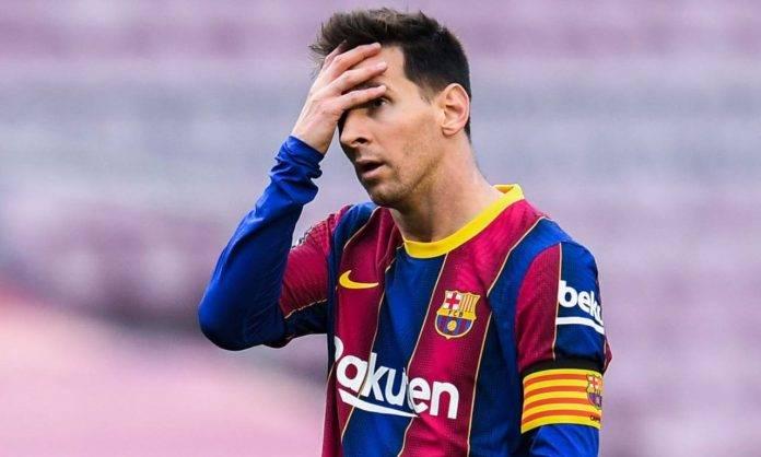 Messi in Barcellona-Celta