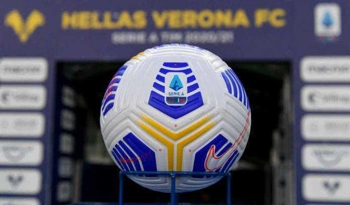 pallone calcio serie A