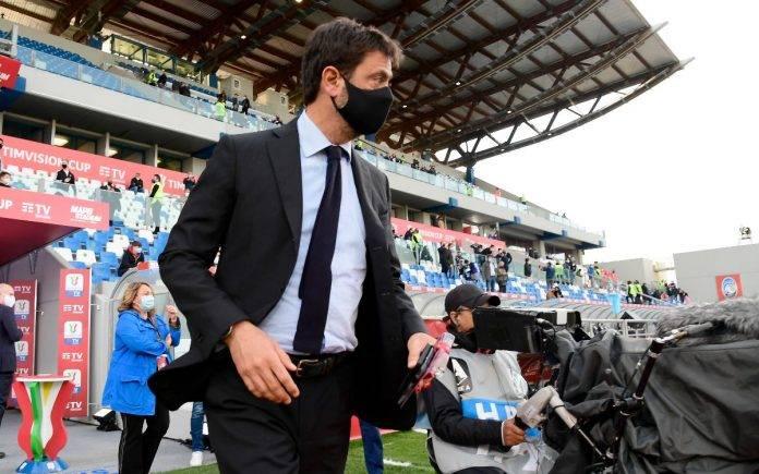 Agnelli Juventus Psg