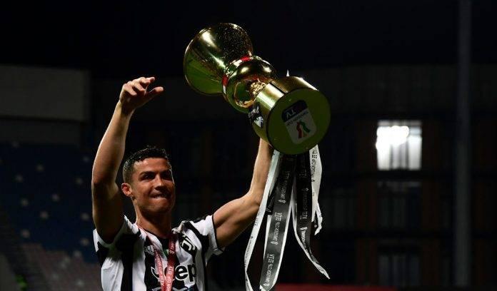 Juve Cristiano Ronaldo esultanza