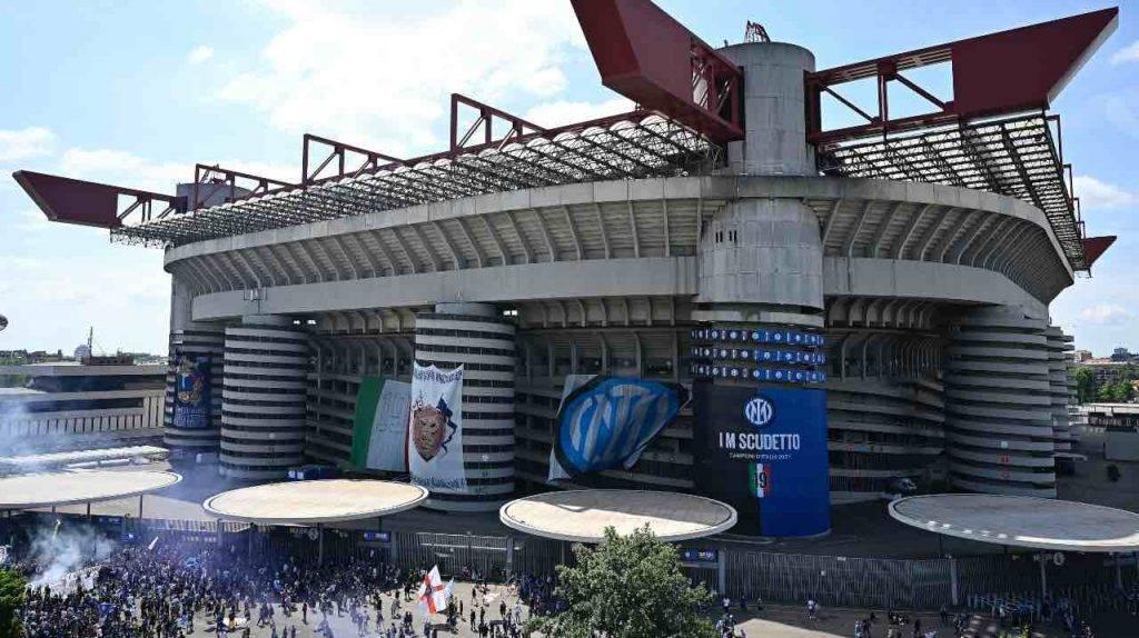 Stadio Giuseppe Meazza in festa