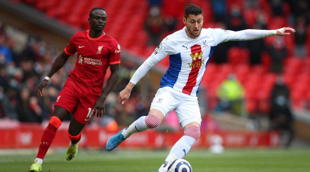 Crystal Palace e Liverpool in campo