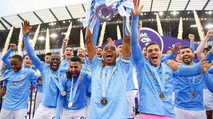 Manchester City festeggia