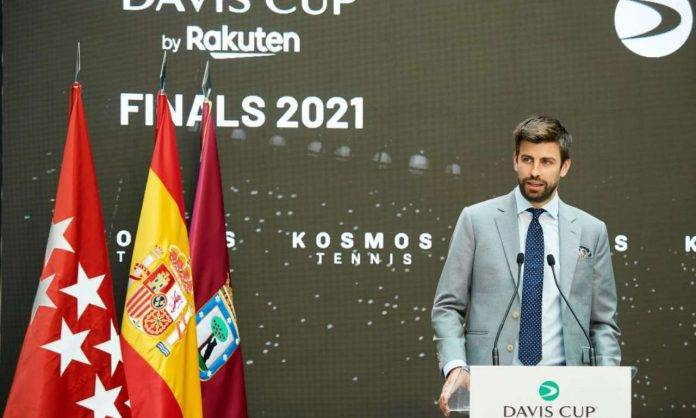 Conferenza stampa di Piqué