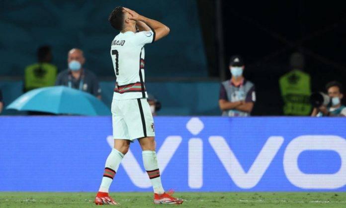 Ronaldo si dispera