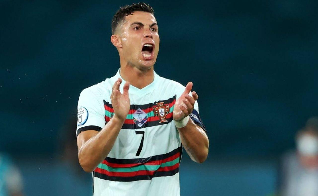 Ronaldo che urla