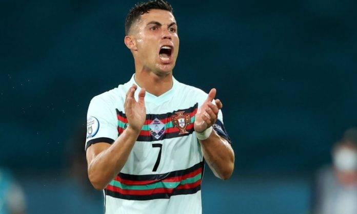 Ronaldo in campo col Portogallo