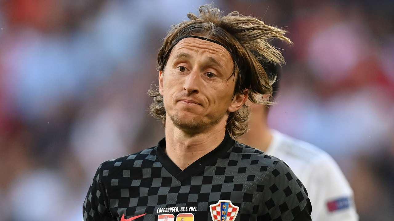 Luka Modric in campo
