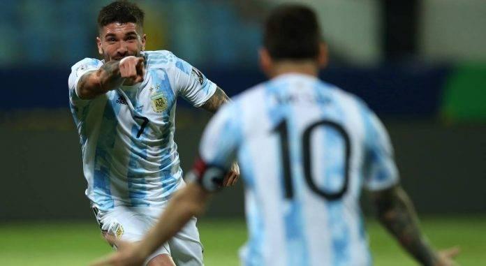 De Paul Messi Argentina