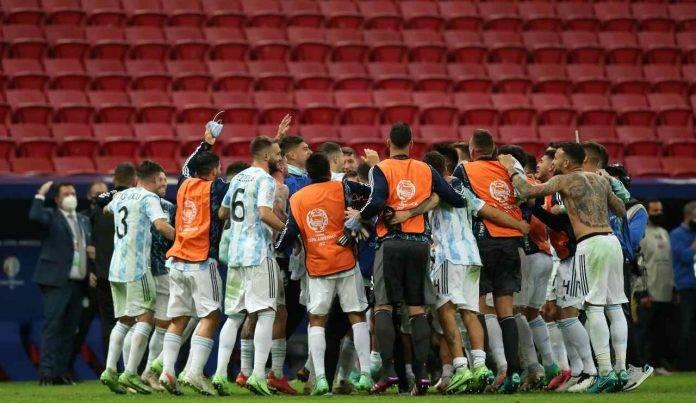argentina festeggia