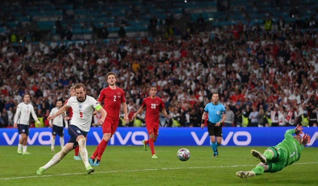 Inghilterra Danimarca rigore