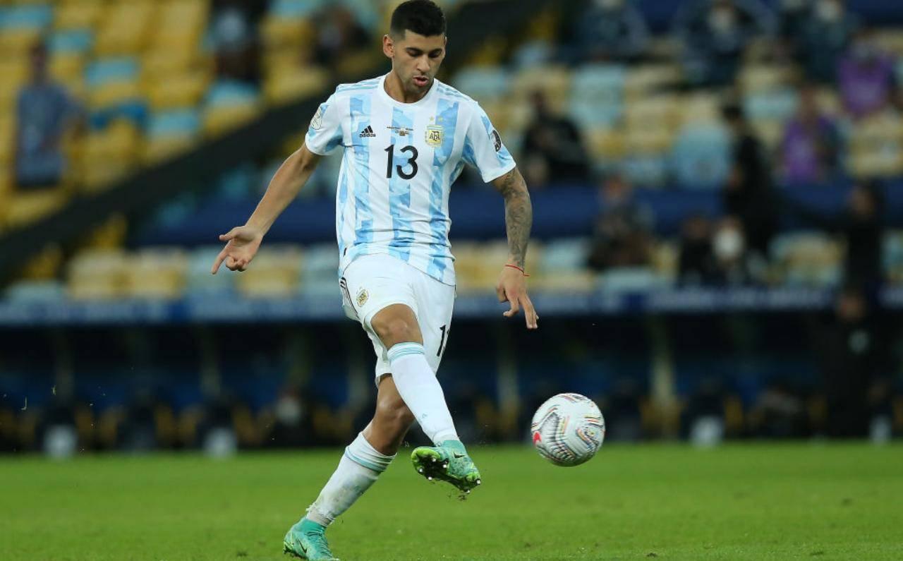 Romero con la maglia dell'Argentina